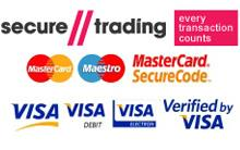 All major credit cards accepted: Visa, Mastercard