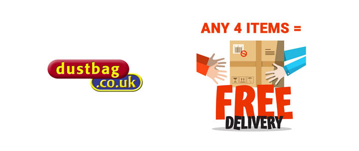 Any 4 Items = Free Delivery